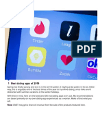 Best Dating Apps of 2019 - CNET
