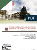 Bio Lp Etudes Moleculaire Cellulaire