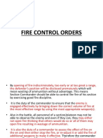 Fc8 Fire Control Orders