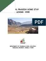 Himachal Pradesh Home Stay Scheme 2008