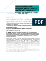 Autohemoterapia Alternativa eficaz en la patologia autoimune Hernandez 2001