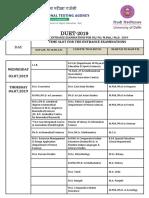 Date Sheet 1024