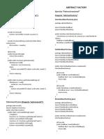 Ejemplos Patrones de Diseño