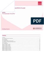 English Scheme of work for as level