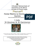 2019 - 1 JULY - ST KOSMAS & ST DAMIANOS OF ROME.doc