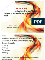 Science Week 4 Day 1-5