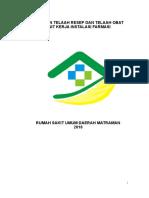 Panduan Telaah Resep dan Telaah Obat RSUD Matraman Fix.doc