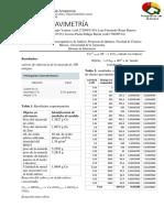 Informe de Electrogravimetría