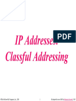 Lecture 3- IP Classful Addressing