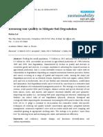 Soil Qulaity Index\Lal.2015.Restoring Soil Quality to Mitigate Soil Degradation
