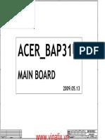 6050A2264501 a02 BAP31U_MAIN BOARD_A02_0520 1310A2264501-MB-A02 20090513 ACER ASPIRE 3410 3810T.pdf