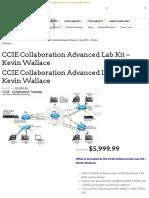 CCIE Collaboration Lab Kit