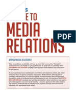 A Guide to Media Relations