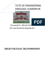 high voltage transmission