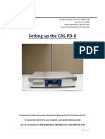CAS PD-II Installation