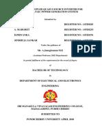 EEE thesis