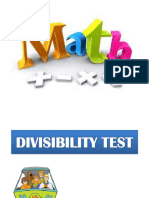 Math q1 Cot Divisibility Rules of 2,5,10