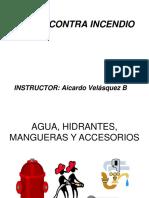 AGUA, HIDRANTES, MANGUERAS Y ACCESORIOS.ppt