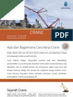 Cara Kerja Crane