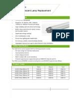LED Tube Datasheet 1(1)