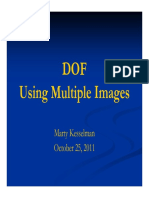 DOF Using Multiple Layers