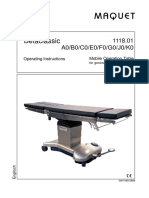 Maquet Operating Table Betaclassic - User manual.pdf