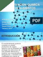 CONSERVACION QUIMICA DE LOS ALIMENTOS.pptx