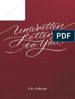 Unwritten Letters to You