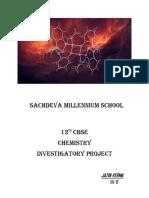 Chemistry Project Jatin