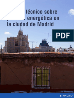 Estudio Pobreza Energética Ayuntamiento de Madrid