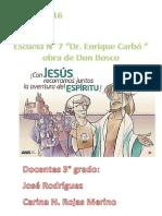 Actividades de diagnóstico y religion