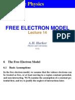 Fermi Free Electron Model