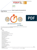 250 Charlas de 5 Minutos Para Mejorar La Gestión de La Prevención de Riesgos Laborales _ Prevencionar