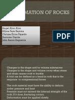 Deformation of Rocks