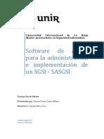 Software de Apoyo Para La Administración e Implementación de Un SGSI-SASGSI