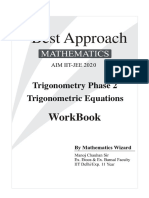 Workbook_Trigonometric Equations by MC Sir