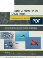Lesson 2 Matter in the Liquid Phase