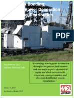 Grounding and  Bonding - Temporary Power Generation and Electrical Distribution