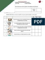 Encuesta de Detección de Intereses z141 Padres