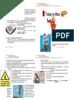 Cartilla SSOMA 2019-015 Trabajos en Altura