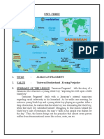 Jamaican Fragment