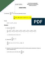 Cálculo II - Sumatoria Teoría y Práctica.docx