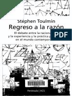 Stephen Toulmin - Regreso a la razón.pdf