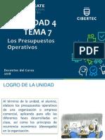 Tema 07 - Los Presupuestos Operativos (1)