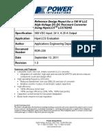 RDR-239 150W Rev 1.0 9-13-11