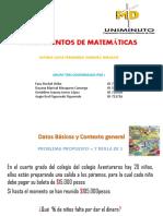 Fundamentos de Matemáticas PROBLEMA GRUPO 3