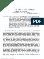 La Mujer Del Apocalipsis, Fr. Alberto Colunga OP