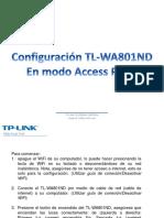 Configuración Tl-wa801nd AP PDF
