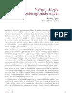 Prologo_Catalogo_Es_Lope_Aurora_Egido La Dama Boba Aprende a Leer