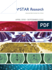 A*STAR Research April 2010-September 2010